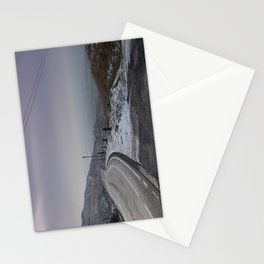 Snow along Halifax Road, Rochdale Stationery Cards
