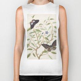 Butterflies and Ferns Biker Tank
