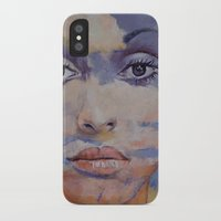 mona lisa iPhone & iPod Cases featuring Mona Lisa by Michael Creese