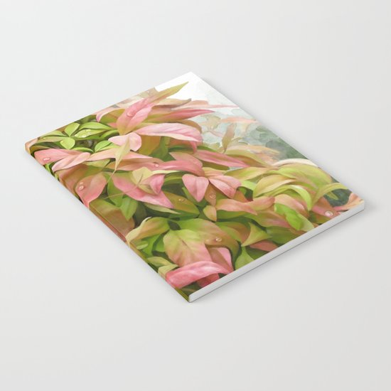 Leaves and Dew Notebook