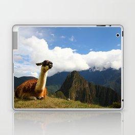 Llama in Machupicchu Laptop & iPad Skin