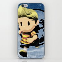 lucas david iPhone & iPod Skins featuring Lucas by ScoDeluxe