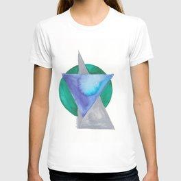 180818 Geometrical Watercolour 3 T-shirt