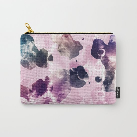 Ink Blooms Carry-All Pouch