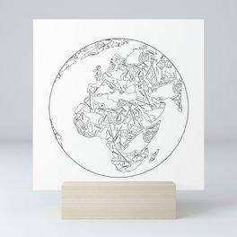 Blacksmith tools Globe- Brent Bailey Forge Mini Art Print