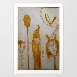 Fam Art Print
