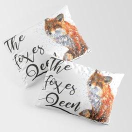 The Foxes Queen Pillow Sham