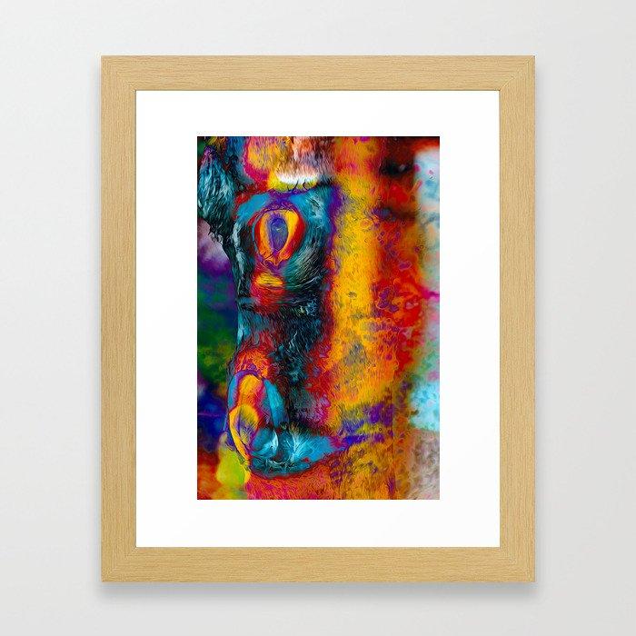 Night Thing Framed Art Print