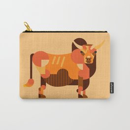 Bull Orange Carry-All Pouch