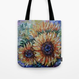 Ah, Sunflower by Lena Owens Tote Bag