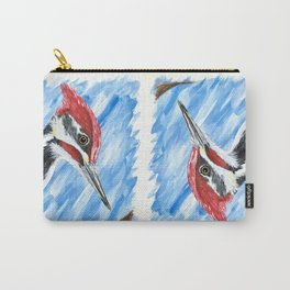 Pileated Portrait Carry-All Pouch