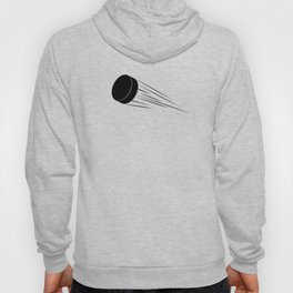 Ice Hockey Puck Hoody