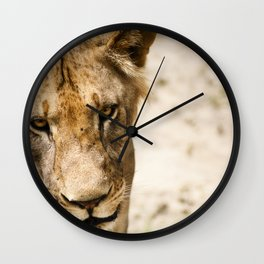 Primary Instinct Wall Clock