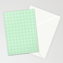 Mint, light green. Stationery Cards