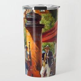 Street musicians Travel Mug