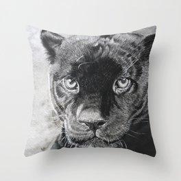 THE  PANTHER Throw Pillow