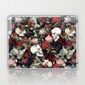 Vintage Floral With Skulls by roxygart