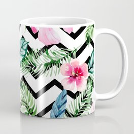 Tropical x Chevron x Islandlife Coffee Mug