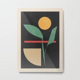Geometric Shapes 102 Metal Print