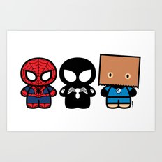 Peter Parker's Cabinet Art Print