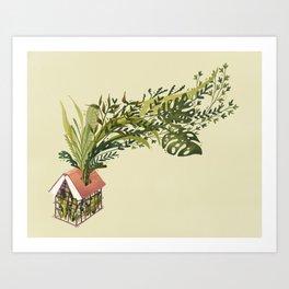 Book Greenhouse Art Print