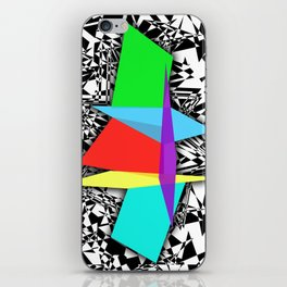 Color Sculpture iPhone Skin