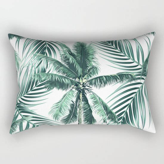 South Pacific palms II Rectangular Pillow