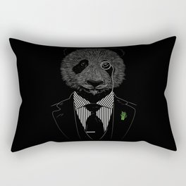 Sir Panda Rectangular Pillow