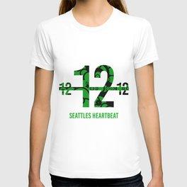 Seattle's Heart beat T-shirt