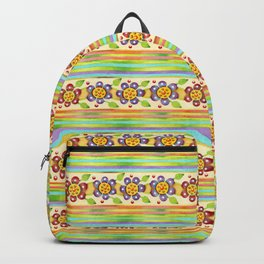 Parterre Botanique Floral Backpack