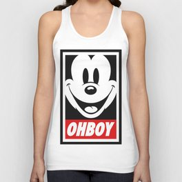 Oh Boy! Unisex Tank Top