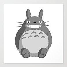I Love Totoro Canvas Print