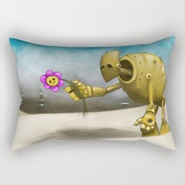 'Dem Days Are Gone Rectangular Pillow