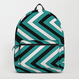 Pattern Turquoise 1 Backpack