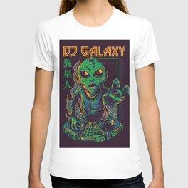 Dj Galaxy Illustration T-shirt