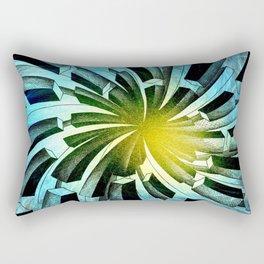 Spacial Fireworks Rectangular Pillow