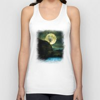 agnes Tank Tops featuring The Moon and the Tree. by Viviana Gonzalez