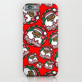 Merry Christmas Santa  iPhone Case