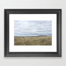 Instow walk Framed Art Print