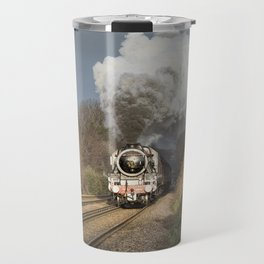 En Route To The Station Travel Mug