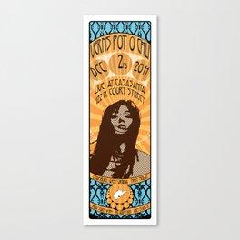 Verns Pot O' Chili Gig Poster Canvas Print