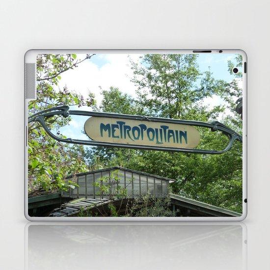 Metropolitain Laptop & iPad Skin