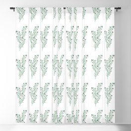 Thyme Pattern #1 Blackout Curtain