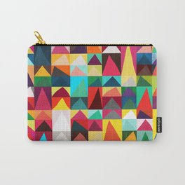 Abstract Geometric Mountains Carry-All Pouch