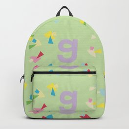 Letter G Pure Star Kids Backpack