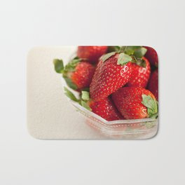 Strawberries Bath Mat