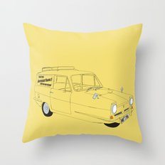 Only Fools and Horses Robin Reliant Throw Pillow