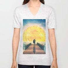 A Beautiful Sunrise Unisex V-Neck