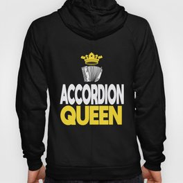Air Accordion Player Queen Music Musician Gift Hoody
