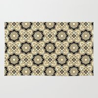 moroccan Area & Throw Rugs featuring *Moroccan by Mr and Mrs Quirynen
